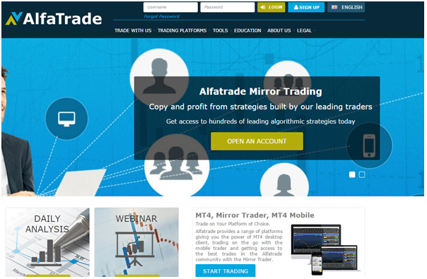 alfatrade screenshot