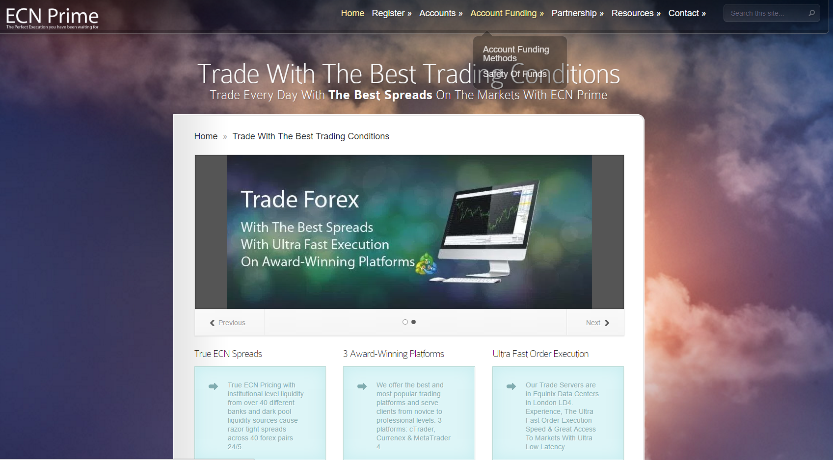 Compare ecn forex brokers