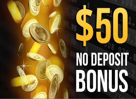$50 No Deposit Bonus to New Accounts for USA clients