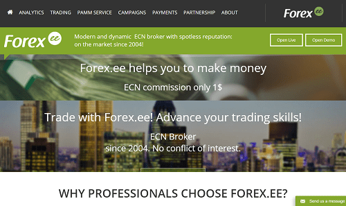 Forexee Broker Review