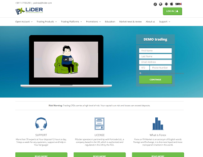 FXLider Broker Reviews
