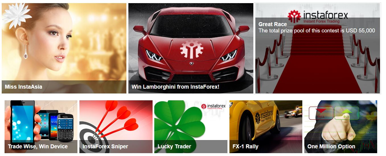 instaforex trading contests