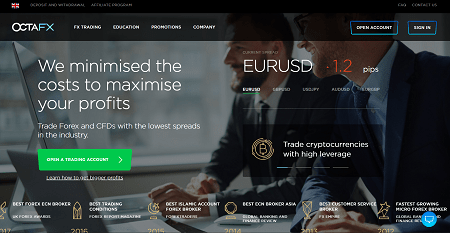Octafx Forex Broker Review