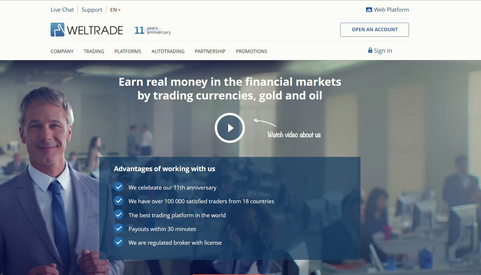 weltrade review